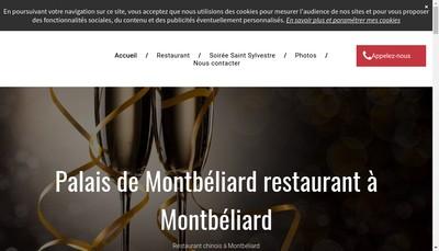 Site internet de Le Palais de Montbeliard