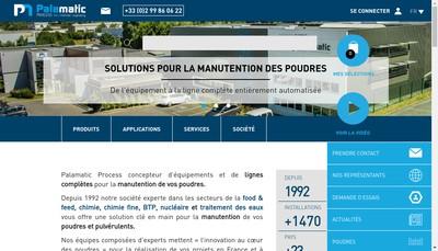 Site internet de Palamatic France