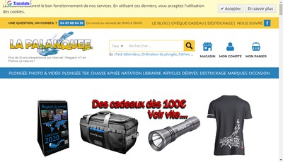 Site internet de La Palanquee News