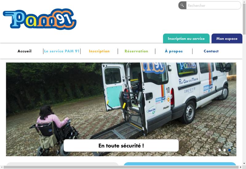 Capture d'écran du site de Flexcite 91 SAS