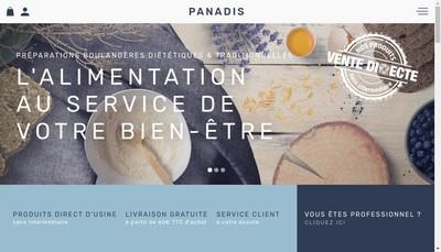 Site internet de Panadis