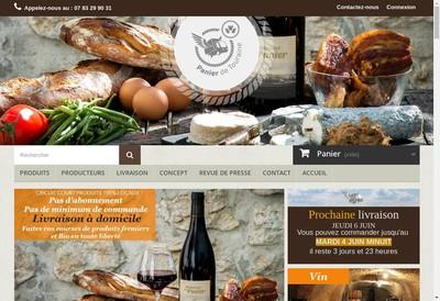 Site internet de Panier de Touraine