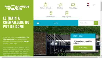 Site internet de Tc Dome