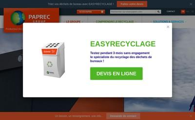 Site internet de La Corbeille Bleue Rhone Alpes