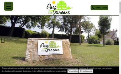 Site internet de Parc la Garenne