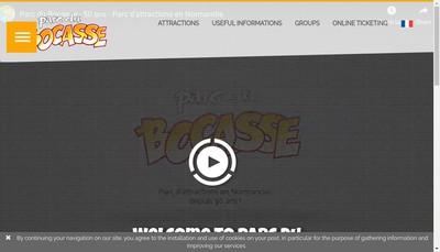 Site internet de Parc du Bocasse