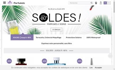 Site internet de Parfum d'O
