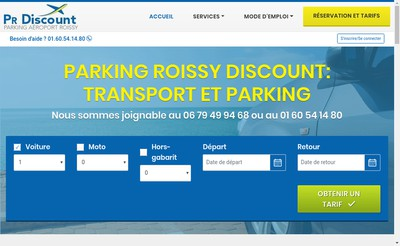 Site internet de Pr Discount