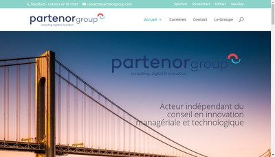 Site internet de Partenor