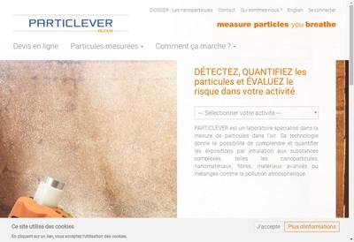 Site internet de Particlever