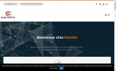 Site internet de Partitio