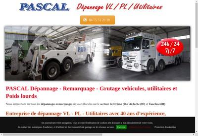 Site internet de Assistance Auto Depannage Pascal