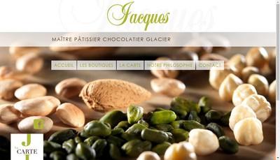 Site internet de Patisserie Jacques