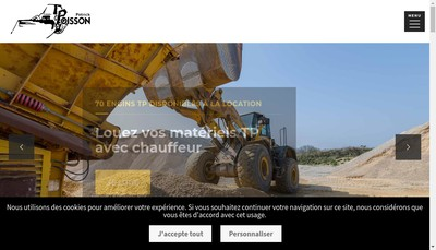 Site internet de Patrick Poisson Tp