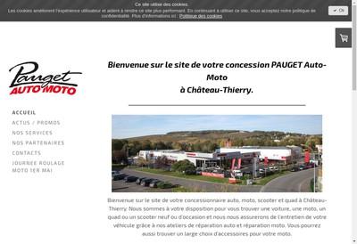 Site internet de Center Auto Moto