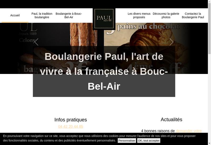 Capture d'écran du site de Inagua