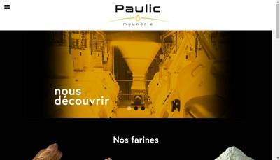 Site internet de Paulic Meunerie SA