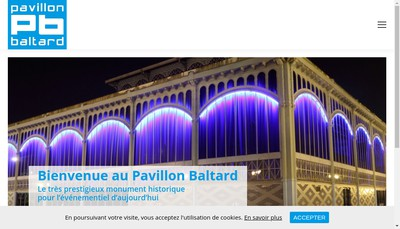 Site internet de Regie Scene Watteau - Pavillon Baltard