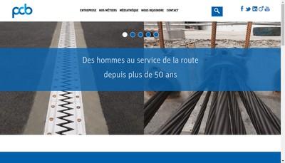 Site internet de Societe Applicat Precontrainte Cables Bosses