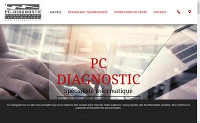 Site internet de Pc Diagnostic Informatique