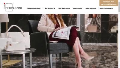 Site internet de Carrelages Pedrazzini