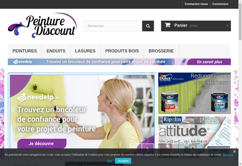 Capture d'écran du site de Ferry Distribution