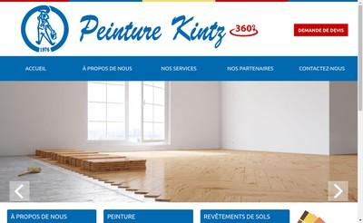 Site internet de Peinture Kintz