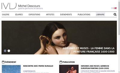 Site internet de Galerie Michel Descours