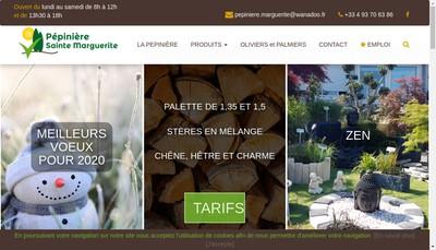 Site internet de Pepinieres Sainte Marguerite