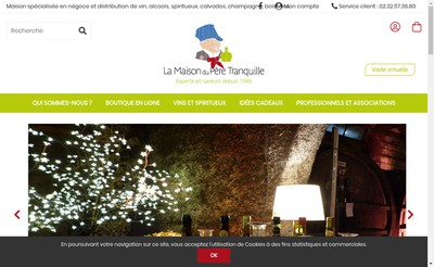 Site internet de Calvados Rollon