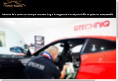 Site internet de Perfect' Detailing