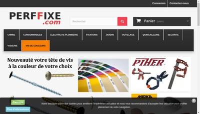 Site internet de Perffixe