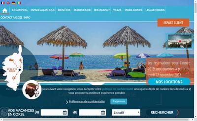 Site internet de Perla Di Mare