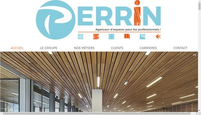 Site internet de SAS Perrin