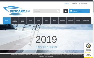 Site internet de Pescaro