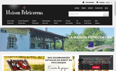 Site internet de Vpc Petricorena