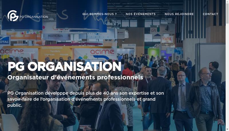 Capture d'écran du site de Acantys Paris