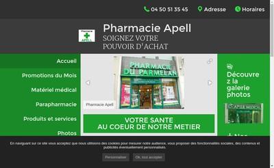 Site internet de Apell Medical