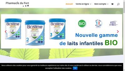 Site internet de SELARL Pharmacie du Fort