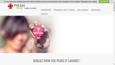 Site internet de Phileas World