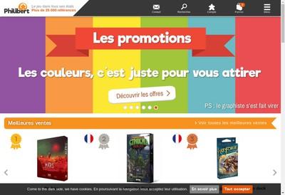 Site internet de Philibert SARL