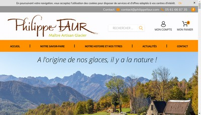 Site internet de Philippe Faur