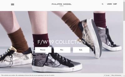 Site internet de Philippe Model