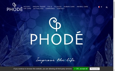 Site internet de Phode