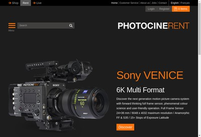 Site internet de Photocinerent