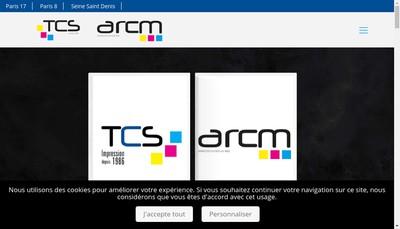 Site internet de Top Communications Services