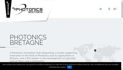 Site internet de Bktel Photonics
