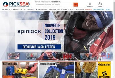 Site internet de Picksea - Nautisme Info - Nautify-Nautic Occasions