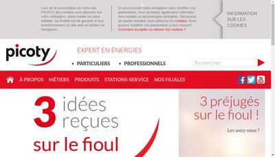 Site internet de Picoty