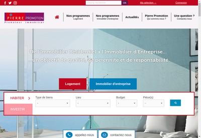 Site internet de Pierre Promotion
